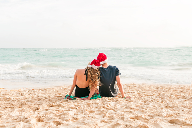 utah photographer, anastasia strate photography, utah wedding photographer, christmas photos at the beach, merry christmas, utah