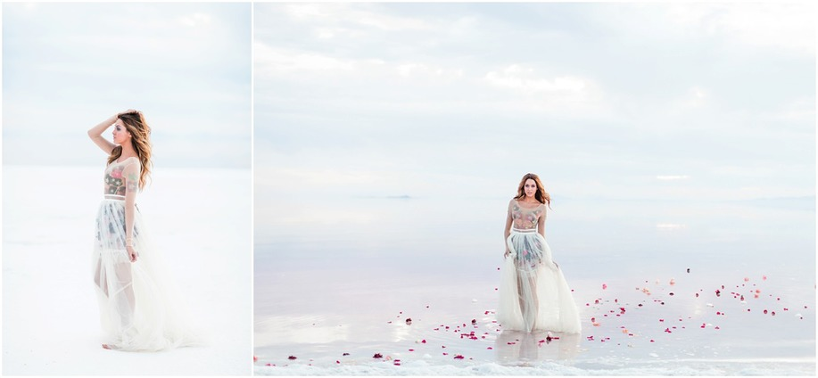 Bridal photos Utah, the Great Salt Lake bridals, Utah wedding photographers, Wedding photos, best utah photographers, pink salt location in utah, dallas photographer, Anastasia Strate photography, bridal locations in utah, utah photorgaphers, wedding dress with flowers, pink salt near salt lake city