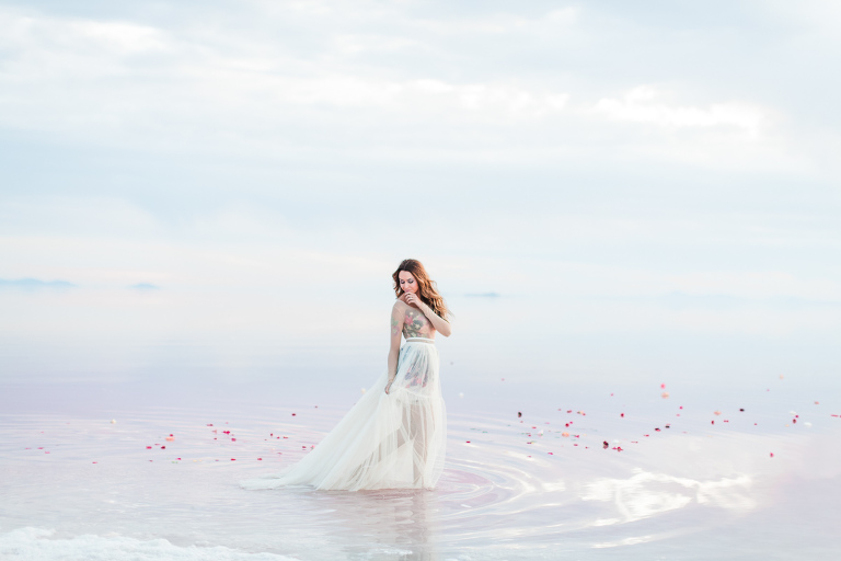 Bridal Photos Utah Salt Flats Anastasia Strate
